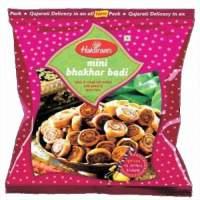 Булочки Халдирамс Мини Бакар Бади (Haldiram's Mini Bhakhar Badi Spicy&Crispy Roll Stuffed With Wheat&Chickpeas Flour), 200г
