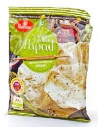 Лепёшки Халдирамс Панжаби Масала Папад (Haldiram's Punjabi Masala Papad), 200г
