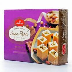 Индийские Cладости Халдирамс Соан Папди (Haldiram's Soan Papdi Flaky Sweet With Almonds&Pistachios), 500г