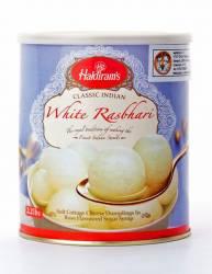 Сырные Шарики Халдирамс Расбхари (Haldiram's Rasbhari Soft Cottage Cheese Dumplings in Rose Flavoured Sugar Surup), 1кг