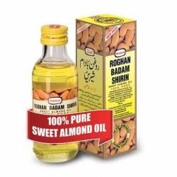 100% миндальное масло Рогхан Бадам Ширин Хамдард (Hamdard Roghan Badam Shirin 100% Pure Sweet Almond Oil), 100мл