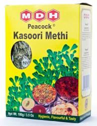 Листья пажитника Махашиан Ди Хатти (MDH Kasoori Methi), 100г