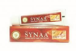 Паста для тату Синая (Synaa Henna Paste Tube for Tatoo), 50г