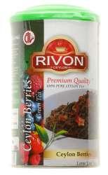 Чай зеленый Цейлонская ягода Ривон (Rivon Ceylon Berries Tea), 100г
