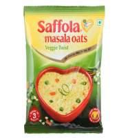 Овсяные хлопья со специями вегетарианские Saffola Veggie Twist, 40г