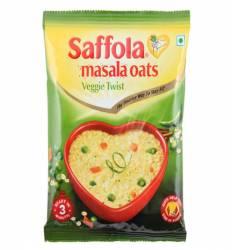 Овсяные хлопья со специями вегетарианские Саффола (Saffola Veggie Twist), 40г