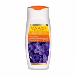 Солнцезащитный лосьон с экстрактом Сирени Ваади Хербалс (Vaadi Herbals Sunscreen Lotion With Lilac Extract SPF30), 110мл