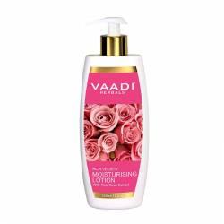 Увлажняющий лосьон для лица с экстрактом Розовой Розы Ваади Хербалс (Vaadi Herbals Moisturising With Pink Rose Extract), 350мл