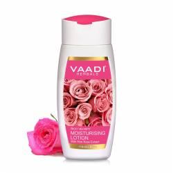 Увлажняющий лосьон для лица с экстрактом Розовой Розы Ваади Хербалс (Vaadi Herbals Moisturising With Pink Rose Extract), 110мл
