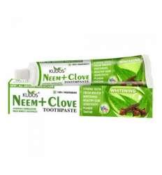 Зубная паста Ним+Гвоздика Кудос ( Kudos Neem+Clove), 100г
