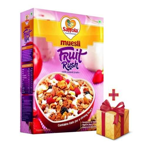Мюсли фруктовые Саффола (Saffola Fruit Rush), 400г