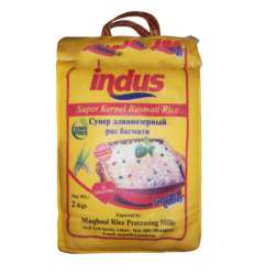 Супер длиннозерный рис Кернел Басмати Индус (Indus), 2кг